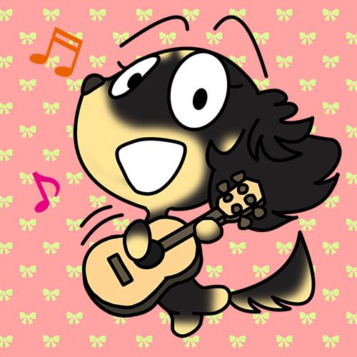 ダックスフンド ギター