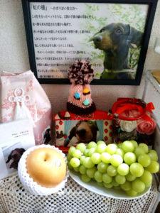 永島しげお農園の梨とシャインマスカット